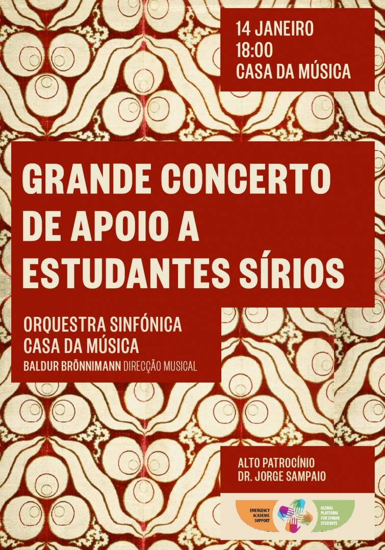 Porto Symphonic Orchestra Concert to Support Syrian Students