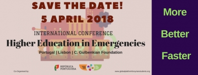 Breaking News! International Conference on Higher Education in Emergencies