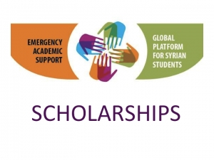 Call for Applications to Syrian Students (Deadline for applying: 28 July)