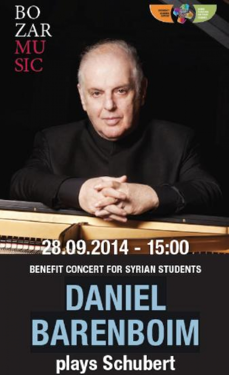 Barenboim: Benefit Concert for Syrian Students