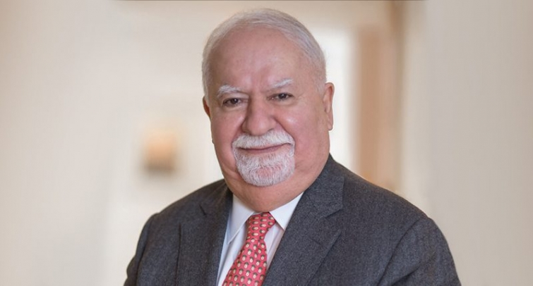 MOURNING THE DEATH OF VARTAN GREGORIAN, President of Carnegie Corporation of New York, a great person and a man of distinguished humanity